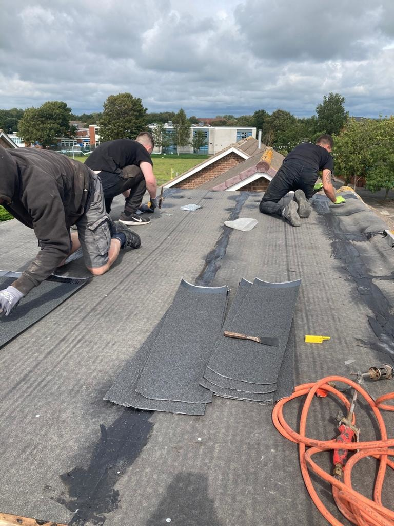 Rubber roofing Southport
