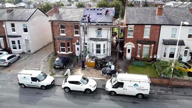 Roof inspection Southport